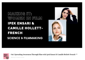 image credit: making it: women in film podcast